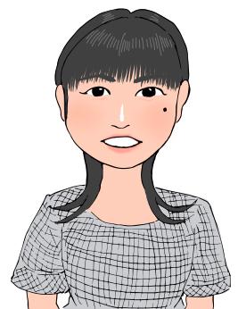 Yuko先生似顔絵