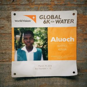 In March many of us ran in the Global 6K for Water so kids like Aluoch in Kenya could gain life-changing access to water.