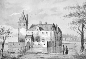 Locatie van het voormalige kasteel Grunsfoort weer zichtbaar maken @ Grunsfoortweide   Renkum   Gelderland   Nederland