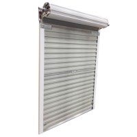 Roll Up Steel Door for Shed, 5 ft x 6 ft - White | Rno-Dpt