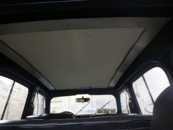 Inside sunroof
