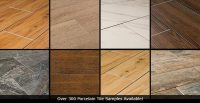 Porcelain Tile That Looks Like Wood vs. Hardwood vs. Vinyl ...
