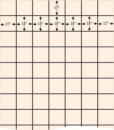 Rebar Size Spacing Chart - Rebar installation sizes - ayucar