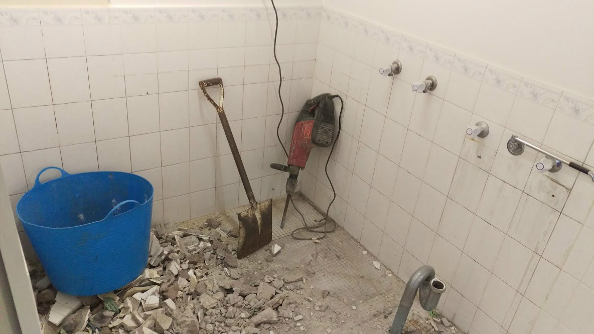 Bathroom Demolition Archives