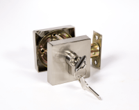 Square Deadbolt  Satin/Nickel