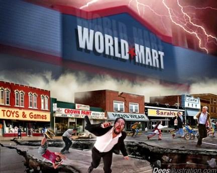 Dees Illustration / World-Mart