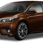 all new corolla altis dark brown mica metallic