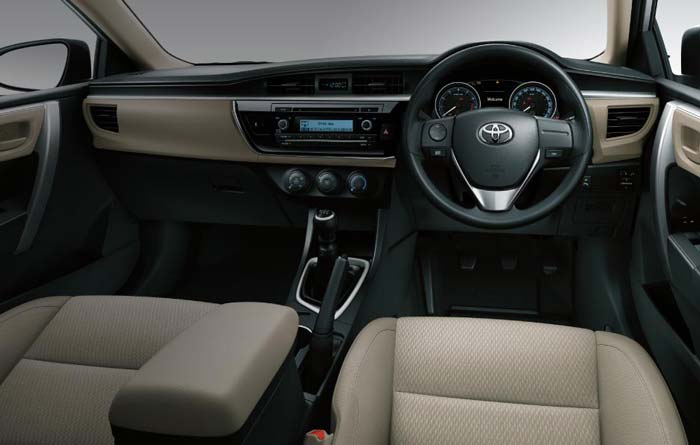 corolla altis interior