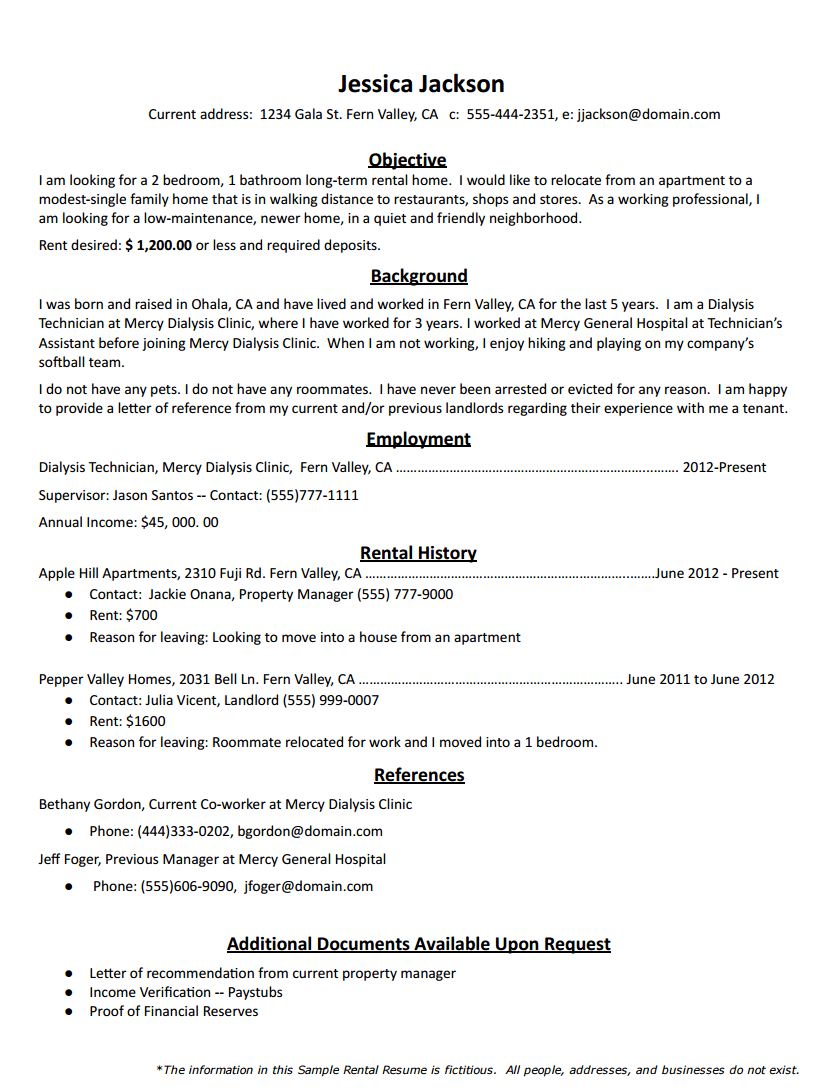 star resume format how to write a successful resume