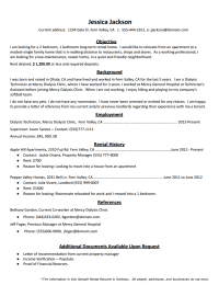 How to Create the Perfect Rental Resume