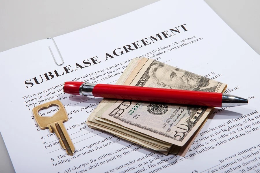 A Landlordu0027s Guide to Subleasing - sublease agreement