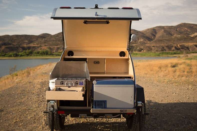 Wonderful Teardrop Camper Plans  The CrowsWing  Offroad Teardrop