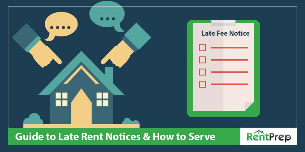 Late Rent Notice vs 3 Day Notice to Pay or Quit (5 free forms)