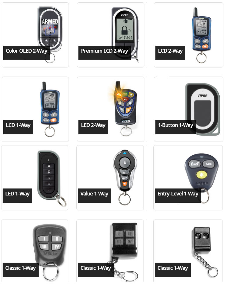car alarm remote starter keyless entry