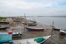 Buntal bateaux pêcheurs