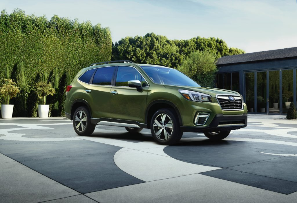 2019 Subaru Forester 13 ultra-high-strength steel, has lots of