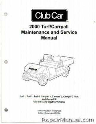 Club Car Golf Cart Manuals - Repair Manuals Online