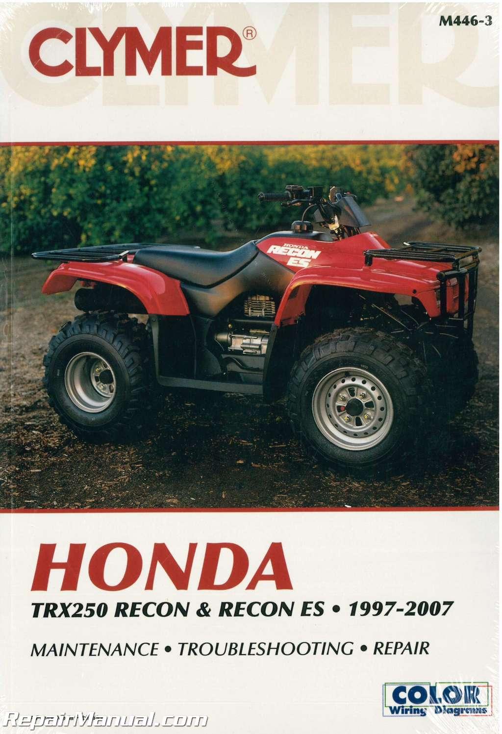 Honda Quad Manual Auto Electrical Wiring Diagram 1997