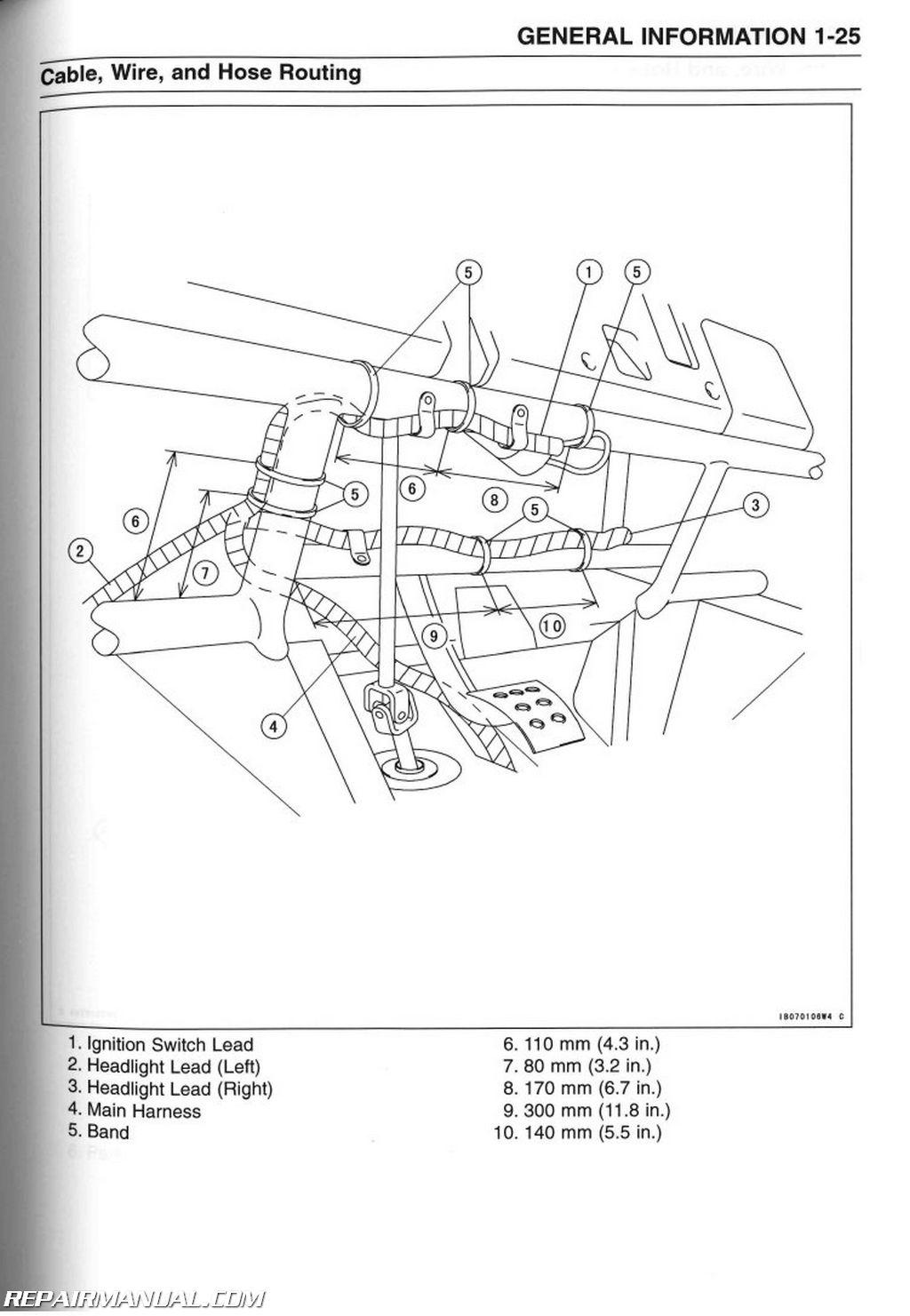 1999 kawasaki mule 550 wiring diagram