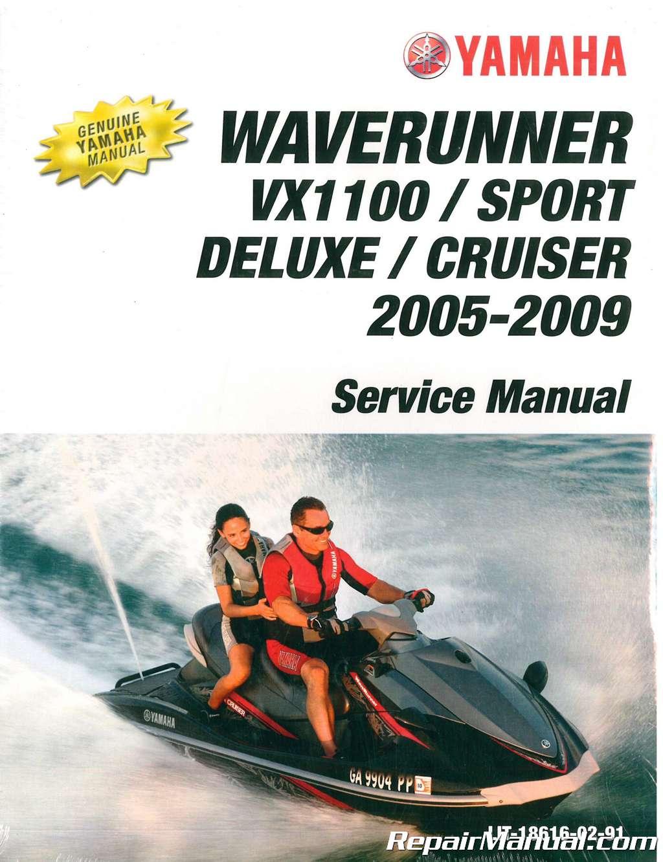 yamaha waverunner manual