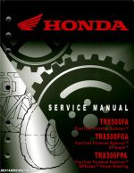 Honda Rancher Service Manual