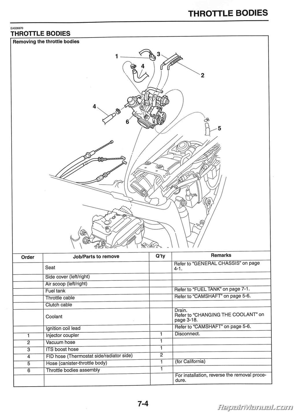 O2 Sensor Wiring Diagram Is The Stock That 2008 2015 Yamaha Wr250r Wr250x Motorcycle Service Manual