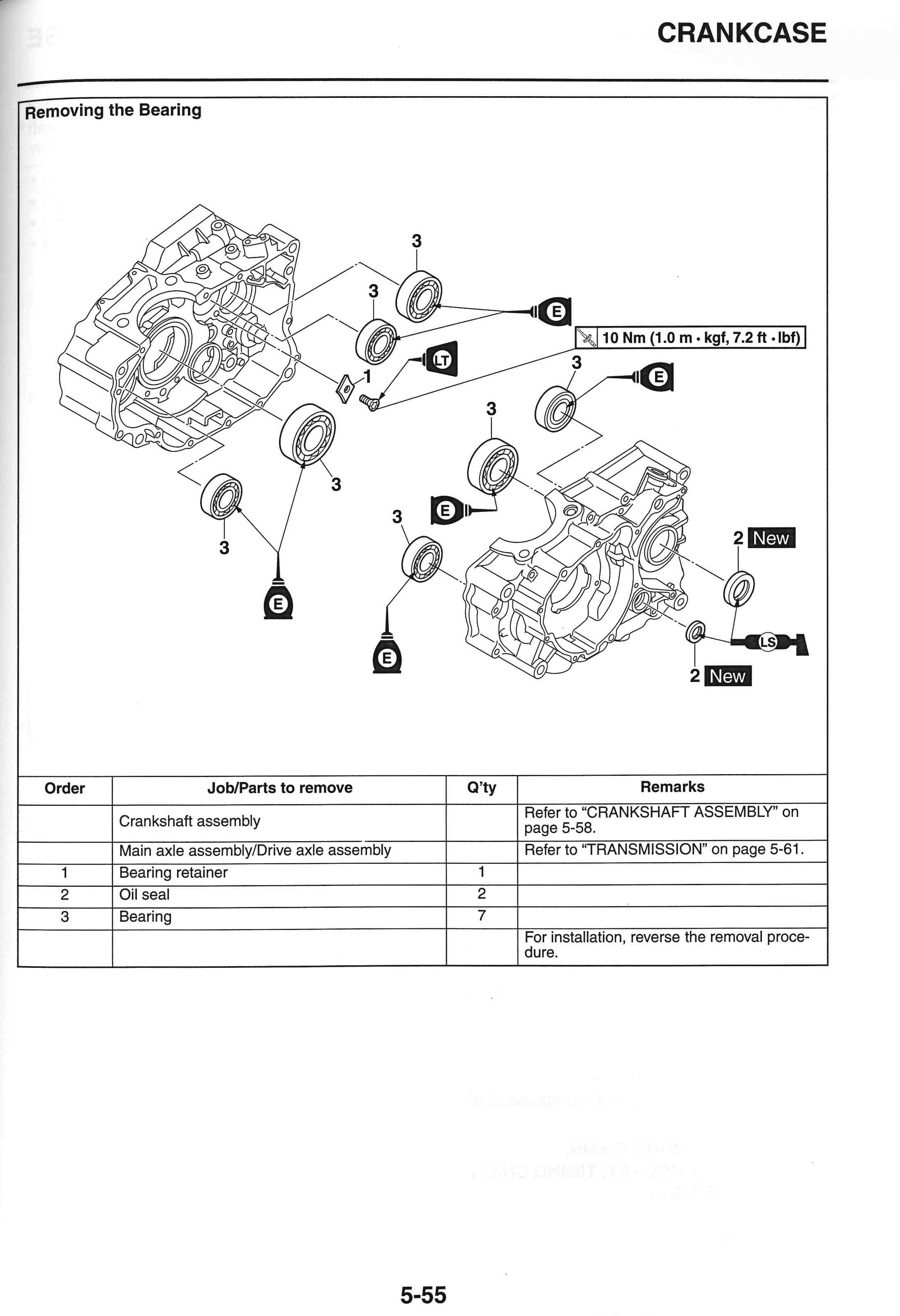 Yamaha Tw200 Wiring Diagram Besides 1988 Blaster As Well 300 Ignition 2009 Xt250 Motorcycle Service Manual Ebook Rh E