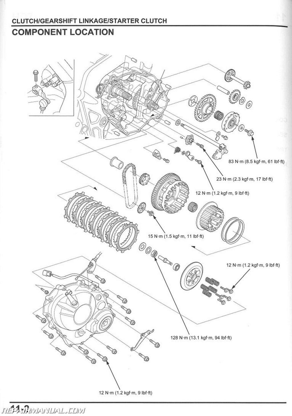 honda scooter engine diagram