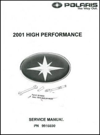 2010-2019 Polaris Pro-Ride 600 800 Snowmobile Service Manual