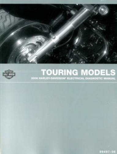 2006 Harley Davidson Touring Motorcycle Electrical Diagnostic Manual