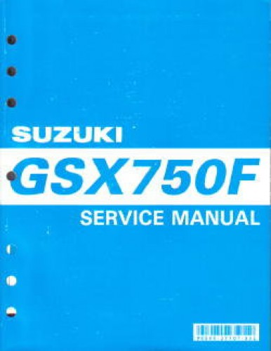suzuki gsx750f manual