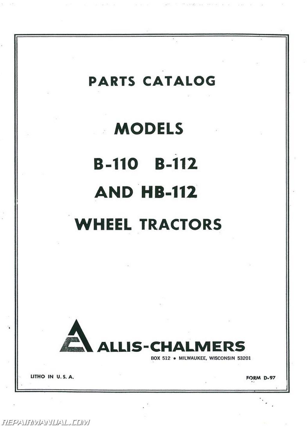 allis chalmers b engine kit