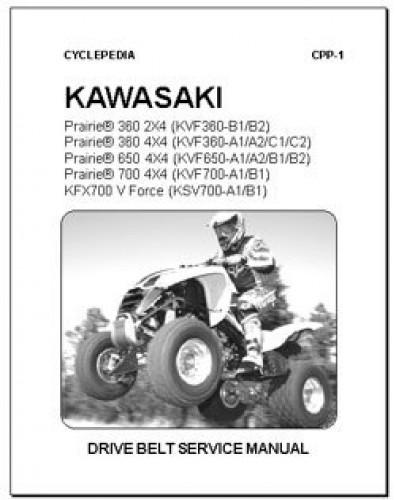 Kawasaki Suzuki KFX700 Prairie Twin Peaks Brute Force Belt Reset