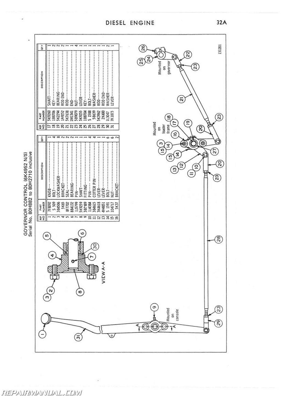 caterpillar equipment parts diagram
