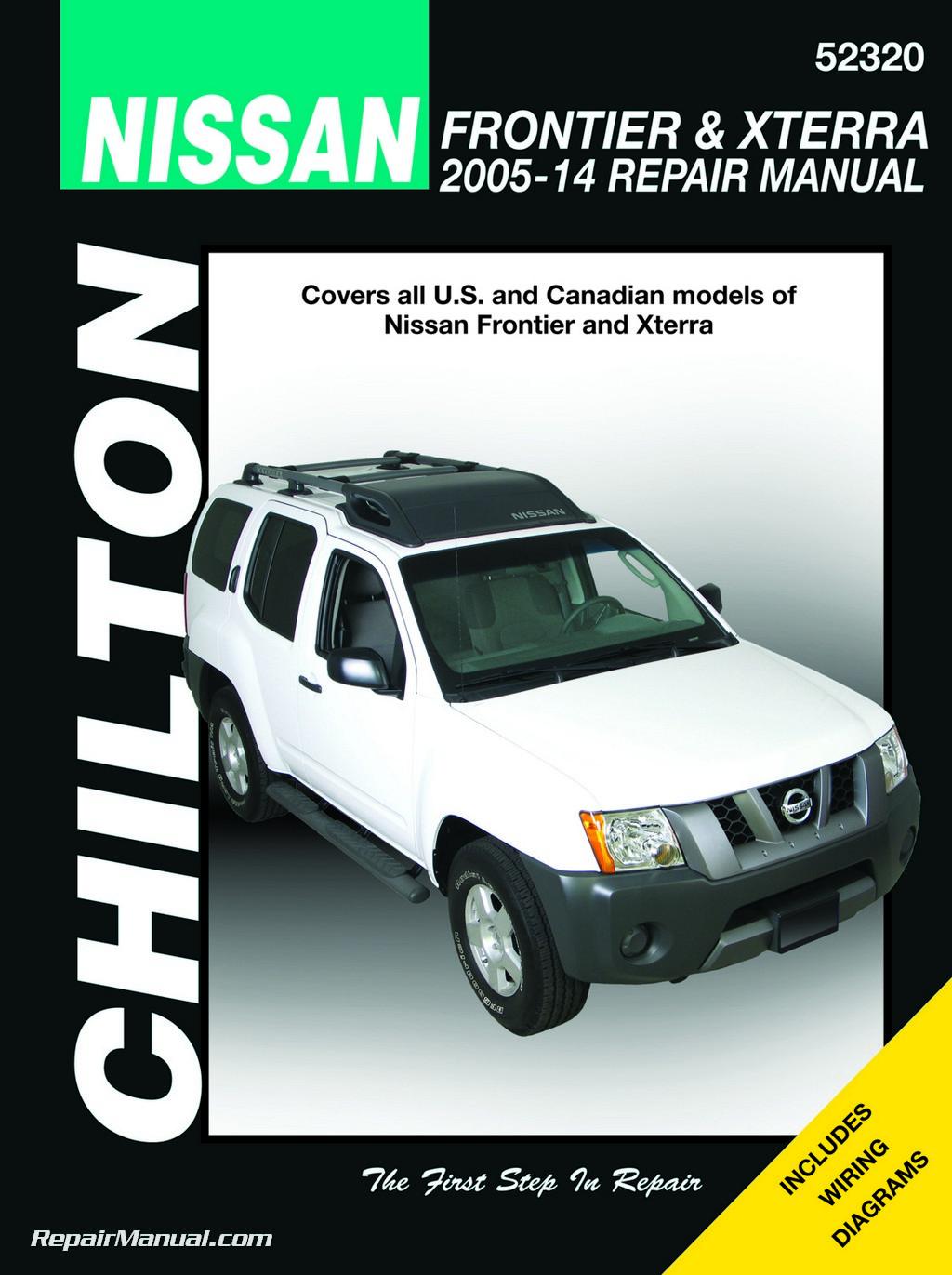 nissan frontier service repair manual 2005 2009