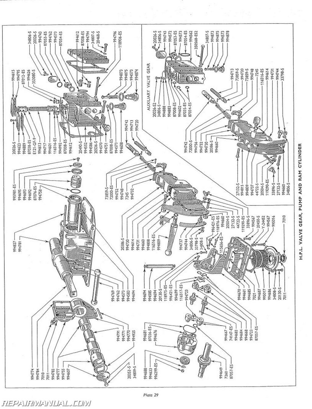 tractor starter ledningsdiagram