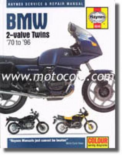 Haynes BMW 2-Valve Twin 1970-1996 Motorcycle Repair Manual
