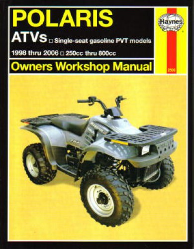 Polaris Repair Manual for Big Boss 6×6, Magnum, Scrambler