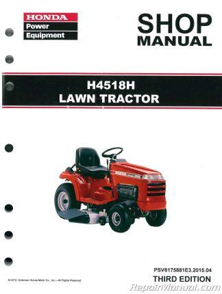 Honda Lawn Mower Manuals - Repair Manuals Online