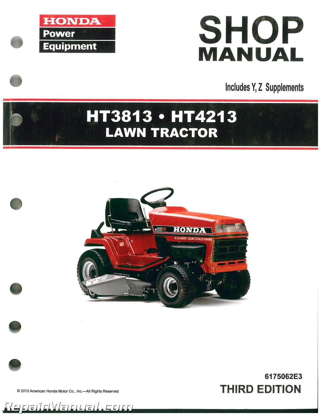 Honda Mower Manual Auto Electrical Wiring Diagram For Poulan Lawn Ht3813 Ht4213 Tractor Shop