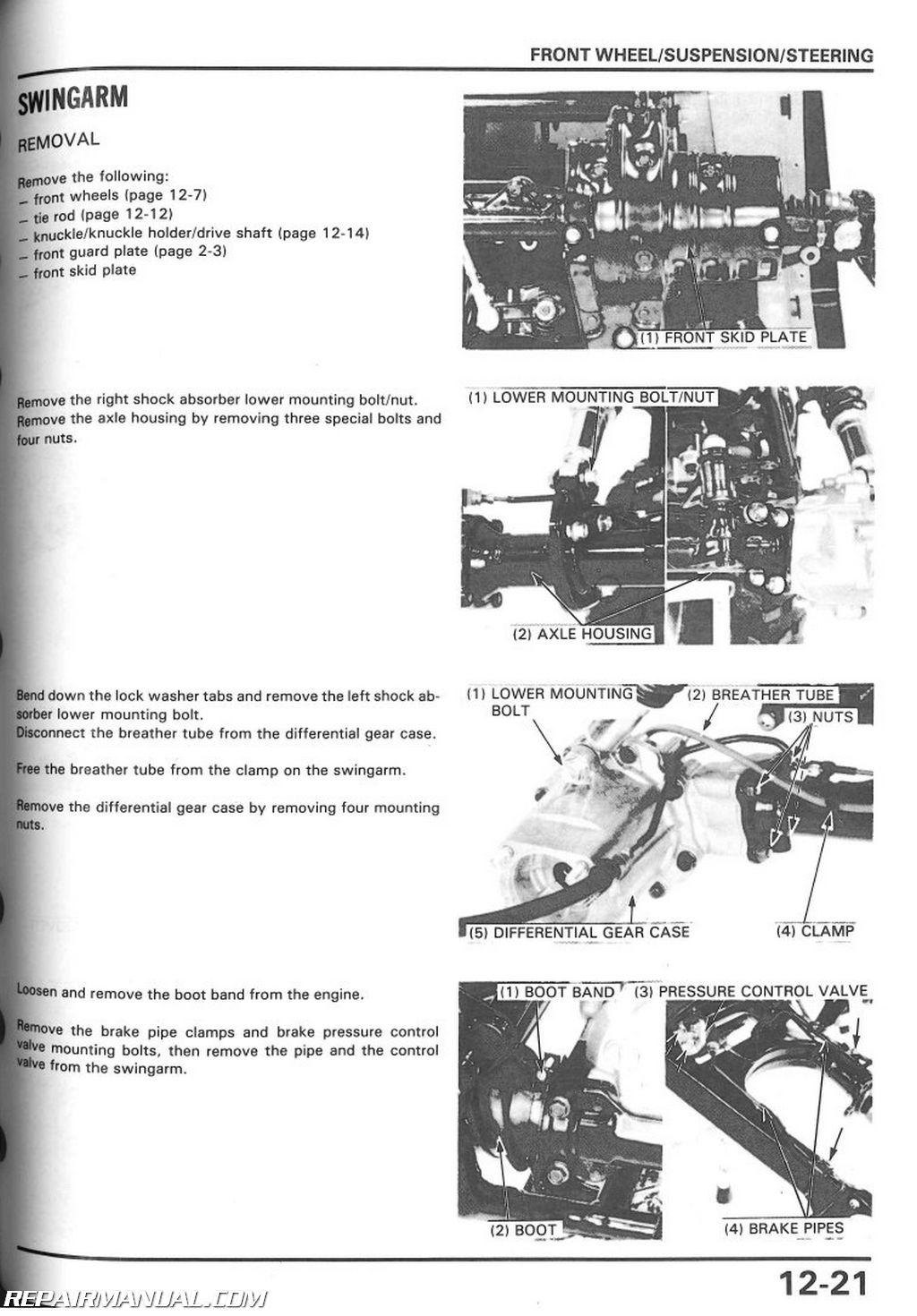 honda atc 350 wiring diagram