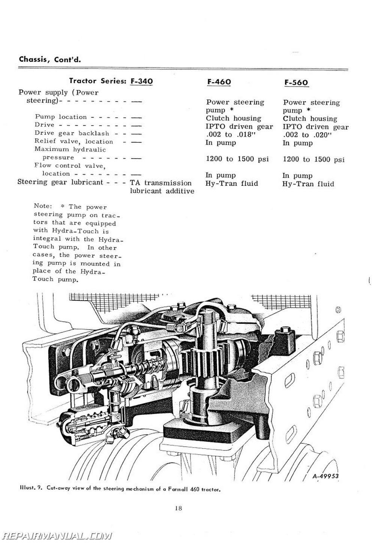 farmall 560 diesel parts