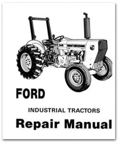 ford tractor schematic 445a