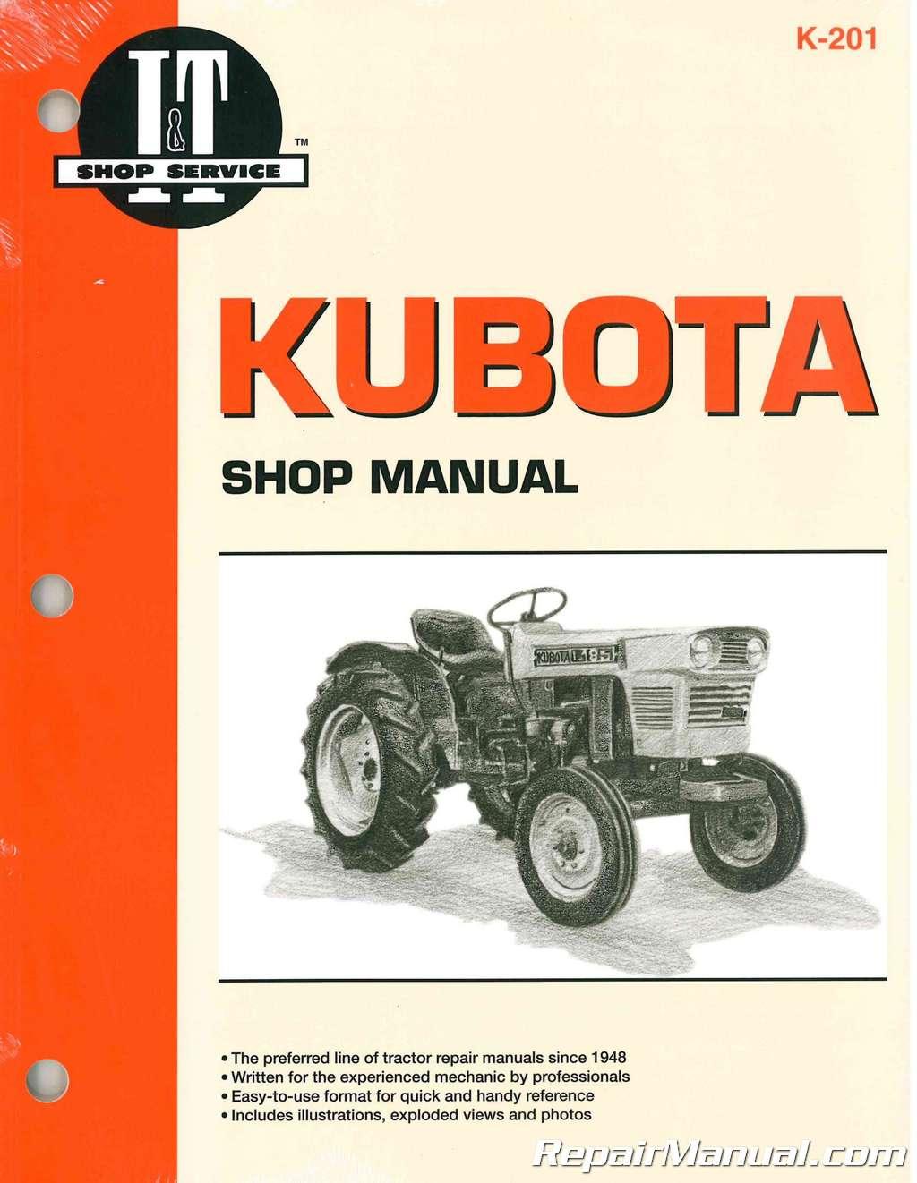 kubota l245 engine diagram