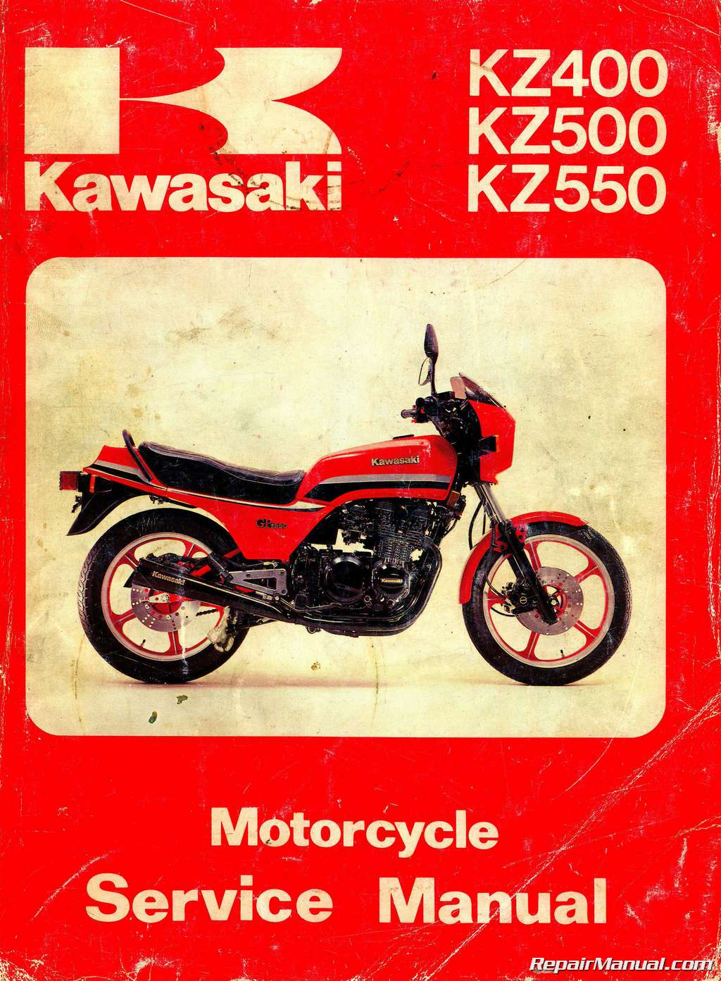 WRG-7265 1979 Kz400 Wiring Diagram