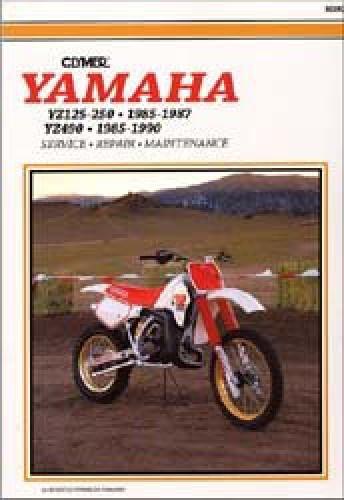 Yamaha YZ125 YZ250 1985-1987 / YZ490 1985-1990 Clymer