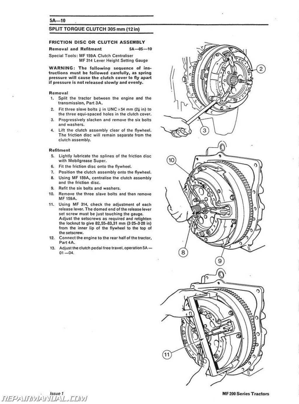 massey ferguson 250 wiring diagram