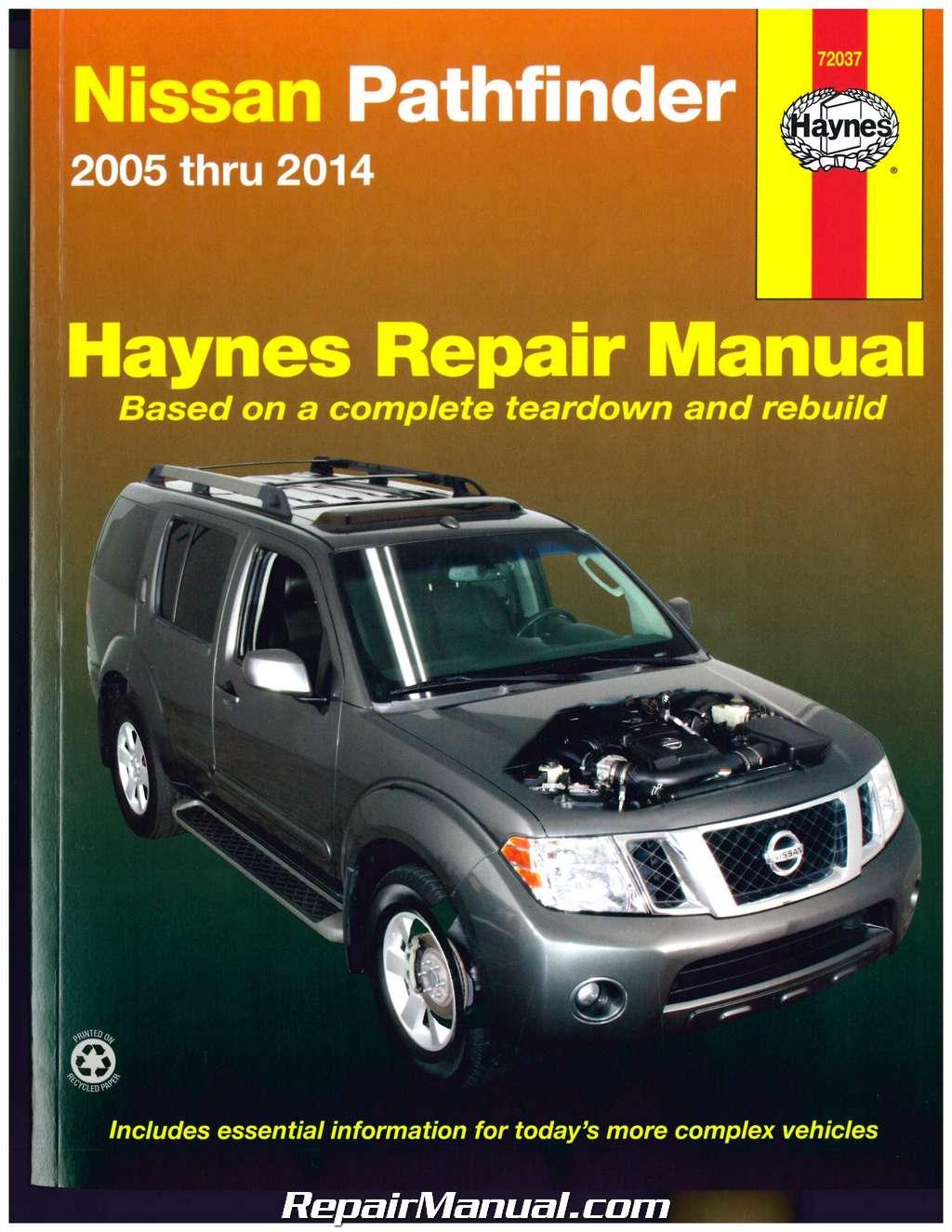 nissan pathfinder 2011 2013 service repair manual