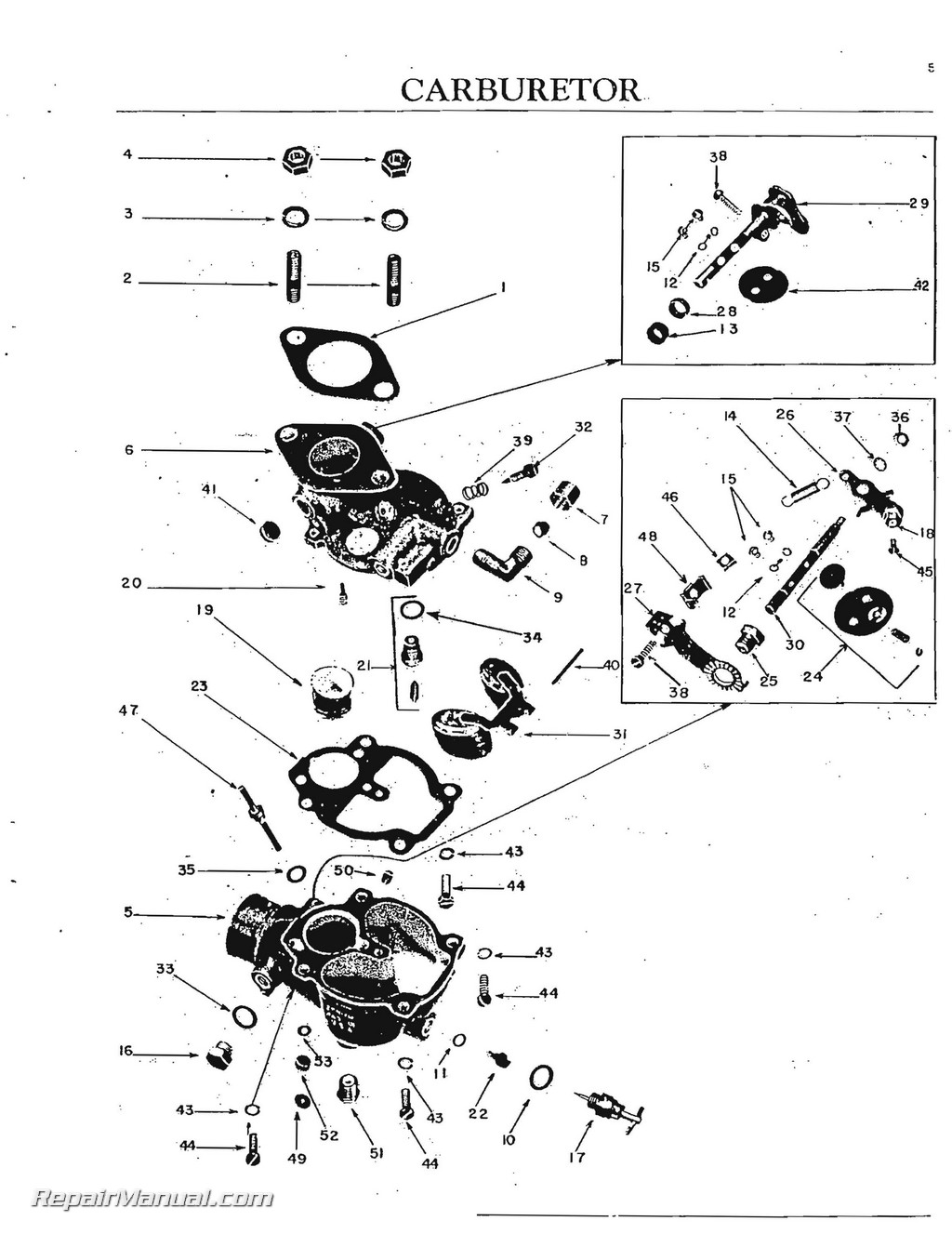 oliver super 55 tractor parts