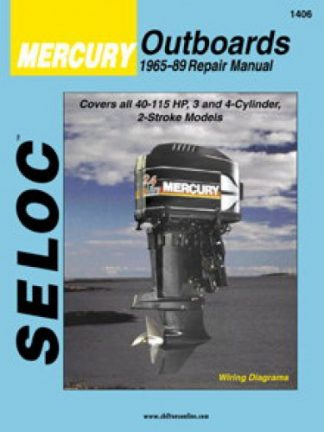 1998-2006 Mercury-Mariner 25hp \u2013 60hp Outboard Boat Engine Repair Manual